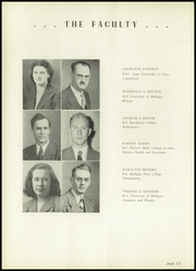 Page 16, 1949 Edition, Hillsdale High School - Hornet Yearbook (Hillsdale, MI) online yearbook collection
