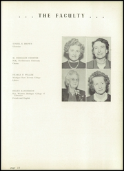 Page 17, 1949 Edition, Hillsdale High School - Hornet Yearbook (Hillsdale, MI) online yearbook collection