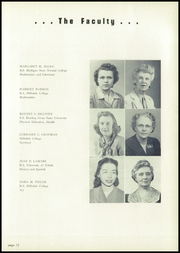 Page 17, 1950 Edition, Hillsdale High School - Hornet Yearbook (Hillsdale, MI) online yearbook collection