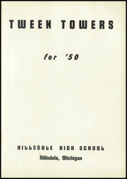 Page 5, 1950 Edition, Hillsdale High School - Hornet Yearbook (Hillsdale, MI) online yearbook collection