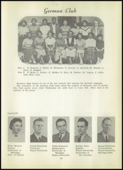 Page 29, 1951 Edition, Northern High School - Viking Yearbook (Detroit, MI) online yearbook collection