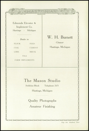 Page 109, 1924 Edition, Hastings High School - Saxon Yearbook (Hastings, MI) online yearbook collection