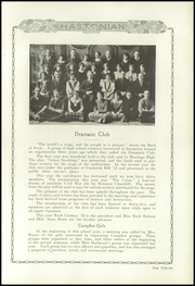 Page 61, 1924 Edition, Hastings High School - Saxon Yearbook (Hastings, MI) online yearbook collection