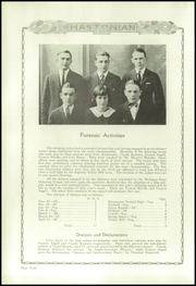 Page 66, 1924 Edition, Hastings High School - Saxon Yearbook (Hastings, MI) online yearbook collection
