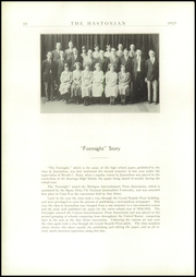 Page 68, 1925 Edition, Hastings High School - Saxon Yearbook (Hastings, MI) online yearbook collection