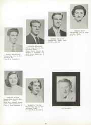 Page 34, 1954 Edition, Southfield High School - Blue and Gray Yearbook (Southfield, MI) online yearbook collection