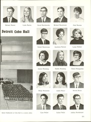 Page 215, 1968 Edition, Southfield High School - Blue and Gray Yearbook (Southfield, MI) online yearbook collection