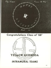 Page 239, 1968 Edition, Southfield High School - Blue and Gray Yearbook (Southfield, MI) online yearbook collection