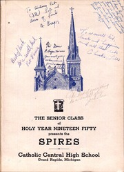 Page 5, 1950 Edition, Catholic Central High School - Spires Yearbook (Grand Rapids, MI) online yearbook collection