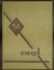 Fremont High School - Mogul Yearbook (Fremont, MI) online yearbook collection, 1954 Edition, Page 1