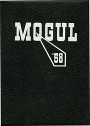 Fremont High School - Mogul Yearbook (Fremont, MI) online yearbook collection, 1958 Edition, Page 1