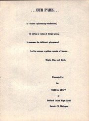 Page 7, 1953 Edition, Redford Union High School - Blue and Gold Yearbook (Detroit, MI) online yearbook collection