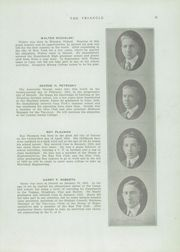 Page 17, 1920 Edition, Cass Technical High School - Triangle Yearbook (Detroit, MI) online yearbook collection