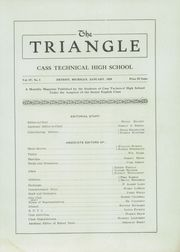 Page 5, 1920 Edition, Cass Technical High School - Triangle Yearbook (Detroit, MI) online yearbook collection