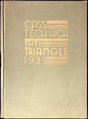 1933 Edition, Cass Technical High School - Triangle Yearbook (Detroit, MI)