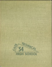 1954 Edition, Cass Technical High School - Triangle Yearbook (Detroit, MI)