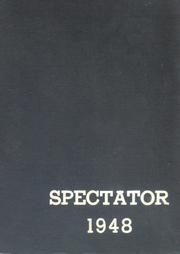 1948 Edition, Wayne Memorial High School - Spectator Yearbook (Wayne, MI)