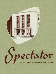 1956 Edition, Wayne Memorial High School - Spectator Yearbook (Wayne, MI)