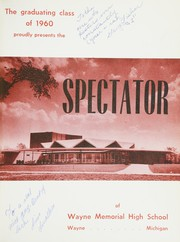 Page 5, 1960 Edition, Wayne Memorial High School - Spectator Yearbook (Wayne, MI) online yearbook collection
