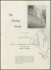 Page 3, 1947 Edition, Pershing High School - Parade Yearbook (Detroit, MI) online yearbook collection