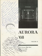 Page 5, 1968 Edition, Adlai Stevenson High School - Aurora Yearbook (Livonia, MI) online yearbook collection