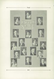 Page 12, 1925 Edition, Monroe High School - Senior Issue Yearbook (Monroe, MI) online yearbook collection