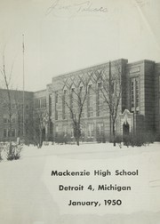 Page 5, 1950 Edition, Mackenzie High School - Stag Yearbook (Detroit, MI) online yearbook collection