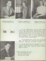 Page 12, 1947 Edition, Belleville High School - Tiger Lore Yearbook (Belleville, MI) online yearbook collection
