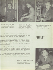 Page 13, 1947 Edition, Belleville High School - Tiger Lore Yearbook (Belleville, MI) online yearbook collection