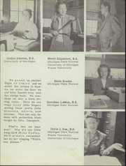 Page 15, 1947 Edition, Belleville High School - Tiger Lore Yearbook (Belleville, MI) online yearbook collection