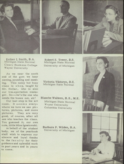 Page 17, 1947 Edition, Belleville High School - Tiger Lore Yearbook (Belleville, MI) online yearbook collection