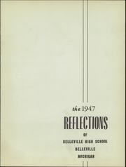 Page 5, 1947 Edition, Belleville High School - Tiger Lore Yearbook (Belleville, MI) online yearbook collection