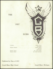 Page 5, 1957 Edition, Grand Blanc High School - Echo Yearbook (Grand Blanc, MI) online yearbook collection