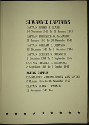 Page 11, 1946 Edition, Suwannee (CVE 27) - Naval Cruise Book online yearbook collection