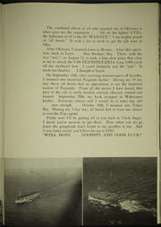 Page 15, 1946 Edition, Suwannee (CVE 27) - Naval Cruise Book online yearbook collection