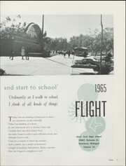 Page 7, 1965 Edition, Edsel Ford High School - Flight Yearbook (Dearborn, MI) online yearbook collection