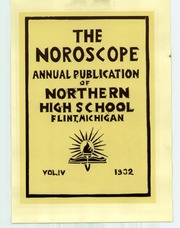 Page 7, 1932 Edition, Northern High School - Noroscope Yearbook (Flint, MI) online yearbook collection