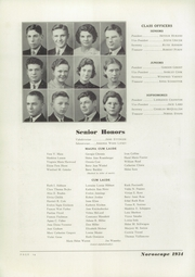 Page 16, 1934 Edition, Northern High School - Noroscope Yearbook (Flint, MI) online yearbook collection