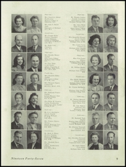 Page 11, 1947 Edition, Northern High School - Noroscope Yearbook (Flint, MI) online yearbook collection