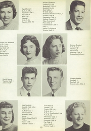 Page 17, 1958 Edition, Utica High School - Warrior Yearbook (Utica, MI) online yearbook collection