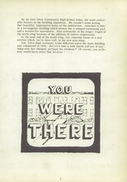 Page 5, 1958 Edition, Utica High School - Warrior Yearbook (Utica, MI) online yearbook collection