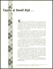 Page 12, 1960 Edition, Howell High School - Torch Yearbook (Howell, MI) online yearbook collection