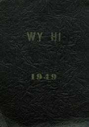 Page 1, 1949 Edition, Roosevelt High School - Wy Hi Yearbook (Wyandotte, MI) online yearbook collection