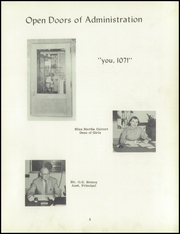 Page 9, 1955 Edition, Roosevelt High School - Wy Hi Yearbook (Wyandotte, MI) online yearbook collection