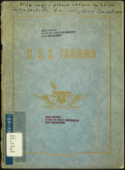 1946 Edition, Tarawa (CV 40) - Naval Cruise Book