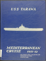 1952 Edition, Tarawa (CV 40) - Naval Cruise Book