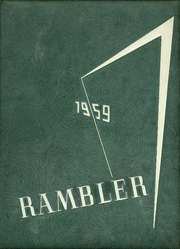 Page 1, 1959 Edition, Fraser High School - Rambler Yearbook (Fraser, MI) online yearbook collection