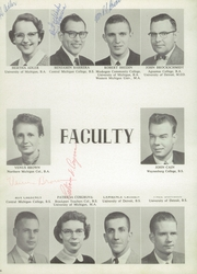 Page 10, 1959 Edition, Fraser High School - Rambler Yearbook (Fraser, MI) online yearbook collection