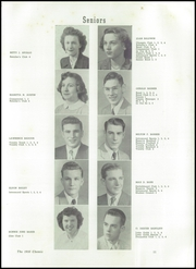Page 15, 1950 Edition, Midland High School - Chemic Yearbook (Midland, MI) online yearbook collection