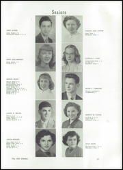 Page 17, 1950 Edition, Midland High School - Chemic Yearbook (Midland, MI) online yearbook collection